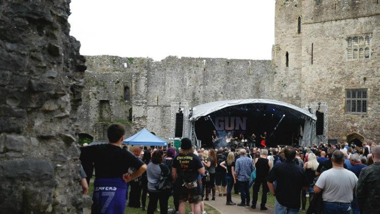 chepstow castle festival